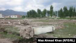 Pakistan - The site of Osama bin Laden's compound in Abbottabad, 26Apr2012