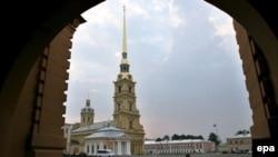 Catedrala Sfinții Apostoli Petru și Pavel de pe teritoriul fortăreței Petropavlovsk, Sankt Petersburg