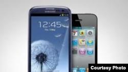 Смартфони фірм Samsung та Apple є давніми конкурентами на світовому ринку