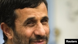 "Mahmud Ahmadinejad doesn't think Barack Obama can ""do anything"" in Iraq, Afghanistan, or Palestine."