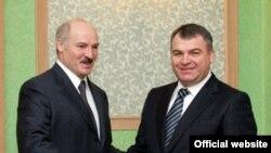 Аляксандар Лукашэнка іАнатольСердзюкоў