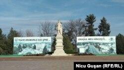 Monumentul lui Ștefan cel Mare din Hâncești