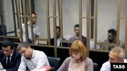 Суд над крымскими татарами в Ростове-на-Дону.