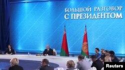«Велика розмова» президента Білорусі Лукашенка зі ЗМІ, 1 березня 2019 року