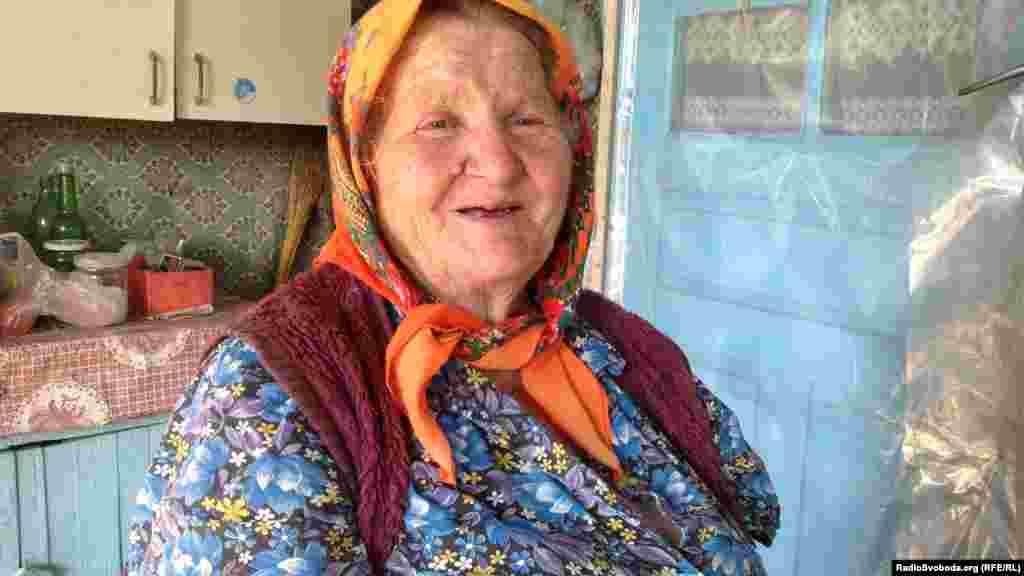 Місцева жителька – баба Варка