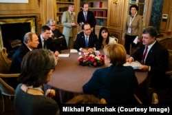 Встреча в Нормандском формате, 17 октября 2014