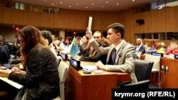 Elvir Sagirman Nyü-Yorktaki BMT forumında