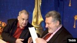 """В раздумьях о """"Нике"""": Эльдар Рязанов и Юлий Гусман"""