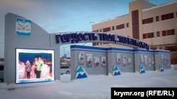 În orașul Labîtnanghi, cercul polar, Siberia