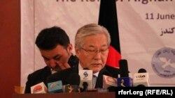 ՄԱԿ-ին կից Աֆղանստանին սատարելոու առաքելության ղեկավար Տադամիչի Յամամոտոն, արխիվ