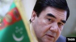 Presidenti i Turkmenisë, Gurbanguly Berdymukhammedov.