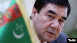 Turkmen President Gurbanguly Berdymukhammedov (file photo)