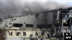 Бои вокруг аэропорта в Донецке, 16 октября