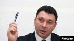 Ազգային ժողովի փոխնախագահ Էդուարդ Շարմազանովը:
