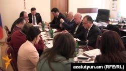 ԱԺ արտաքին հարաբերությունների մշտական հանձնաժողովի նիստը: 29-ը հունվարի, 2016 թ․