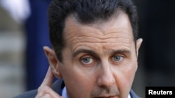 Listening? Syrian President Bashar al-Assad (file photo)