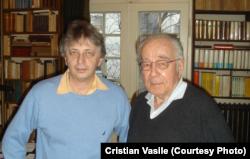 Vladimir Tismăneanu și Mihai Șora