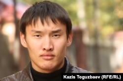 Призывник Ренат Кусаинов. Алматы, 12 октября 2011 года.
