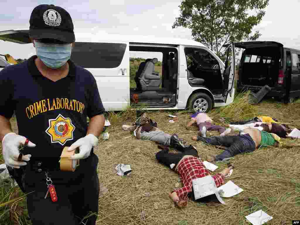 Число жертв массового убийства на Филиппинах достигло 39