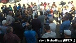 Забастовка металлургов в Рустави
