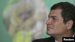Претседателот на Еквадор Рафаел Кореа