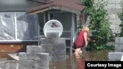 Читинка во время наводнения