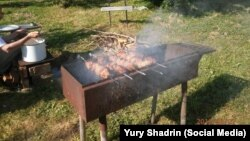 """Vladimir Vladimirovich"" on the grill"