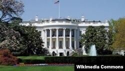 نمای جنوبی کاخ سفید.