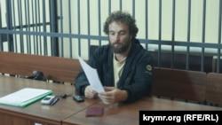 Алексей Шестакович в Железнодорожном районном суде Симферополя, 2016 год