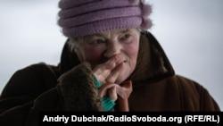 69-річна пенсіонерка з Луганська, яка щойно перетнула лінію розмежування