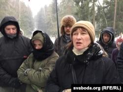 Алена Кісялёва (у цэнтры)