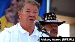 Алматы әкімі Ахметжан Есімов. 12 тамыз 2012 жыл.