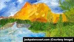 Картина Джека Паланса – The Rapids