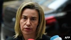 Верховный представитель ЕС по иностранным делам Федерика Могерини (архив)