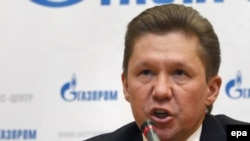 Gazprom chief Aleksei Miller will meet with Russian Prime Minister Vladimir Putin for talks on the dispute.