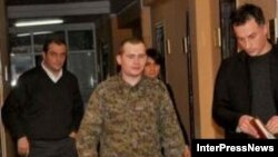 Vitaliy Khripun after his request for asylum in Georgia