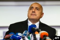 Prime Minister Boiko Borisov announces his resignation.