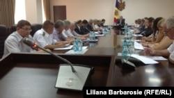 Imagine de la ședința guvernului la Chișinău