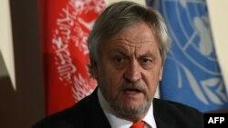 Cпециальный представитель ООН в Афганистане Николас Хейсом.