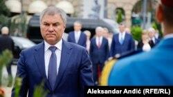 რუსეთის დუმის სპიკერი ვიაჩესლავ ვოლოდინი