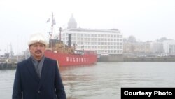 Учурда Финляндияда жашаган эркин журналист Асыран Айдаралиев. Аманат сүрөт.