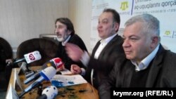 Пресс-конференция представителей Комитета по защите прав крымскотатарского народа