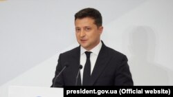 Президент Украины Владимир Зеленский, 7 июля 2021 года (иллюстративное фото)