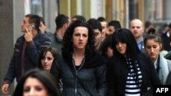 Qytetarë në Prishtinë