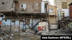 'Sovetski'də qalan sonuncu evlər