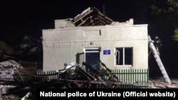 Последствия взрыва и пожара в сельском клубе в Тернопольской области, 3 января 2020 года