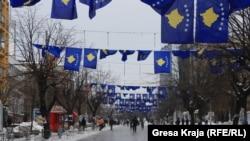 Proslava četvrte godišnjice nezavisnosti Kosova, februar 2012.