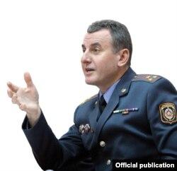 Начальник міліції громадської безпеки Євген Полудень