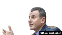 Заместитель министра внутренних дел Белоруссии Евгений Полудень