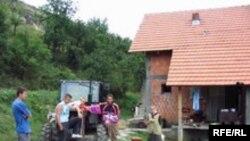 Povratnici u selo Slatina kod Srebrenice